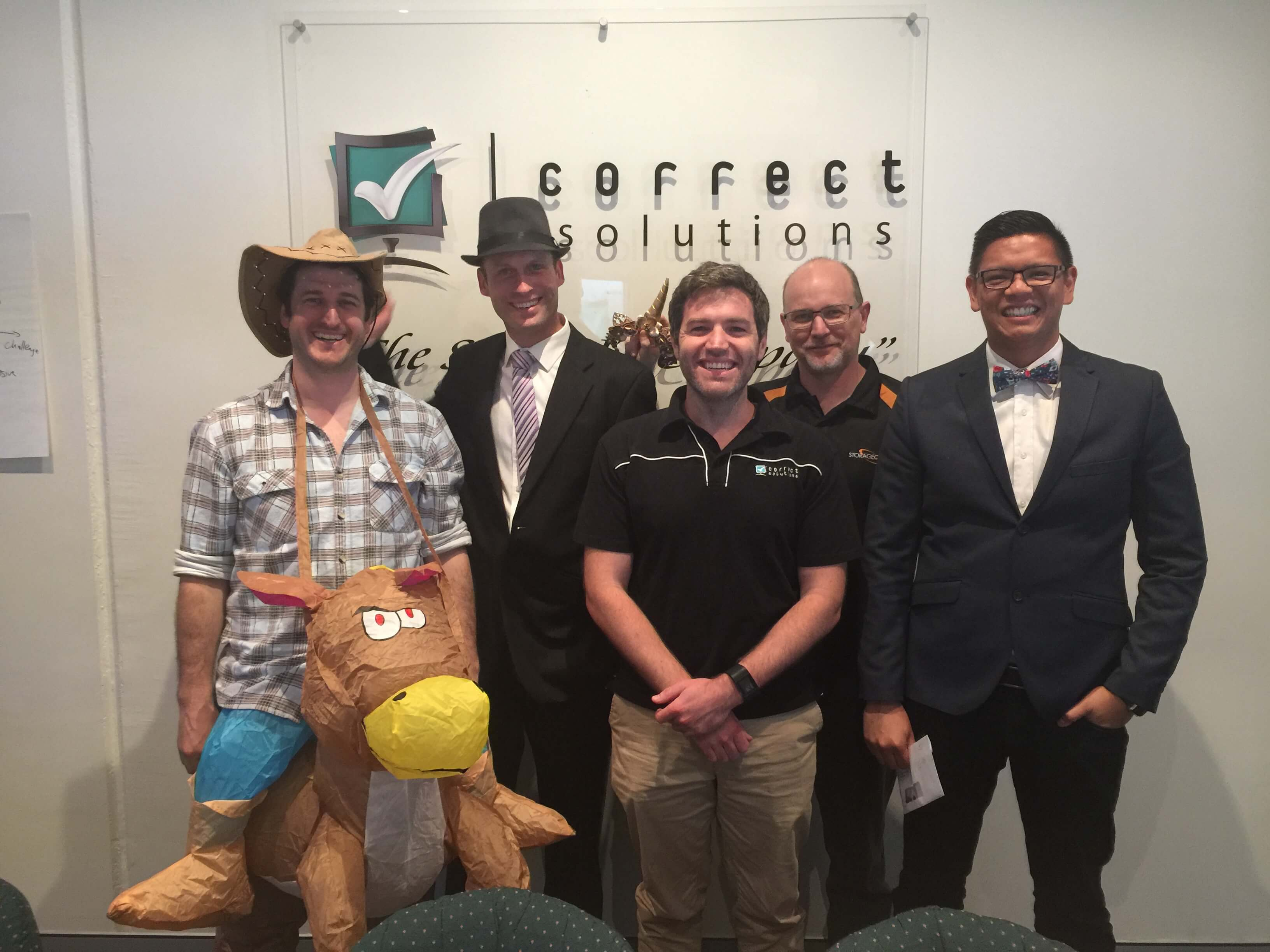 Correct Solutions team at Melbourne Cup